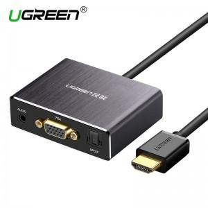 HDMI į VGA ir SPDIF keitiklis (1080P)