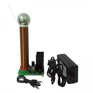 """Elektroninis konstruktorius """"Burbulas turbulas 3"""" (Tesla ritė, aukštos kokybės, lengvai surenkamas konstruktorius)"""