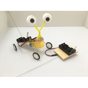 """Surenkamas vaikiškas konstruktorius """"Robotas ropliukas"""" (vaiko lavinimas, aukštos kokybės)"""