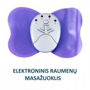 """Elektroninis raumenų masažuoklis """"Tinginukė"""""""