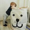 """Medvilninė daiktadėžė """"Linksmasis šuniukas"""" (40 x 50 cm)"""