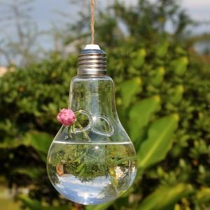 """Dekoratyvinis pakabinamas vazonas """"Lempa dviem gėlėm"""""""