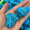 """Mineralai """"Originalus stilius"""" (turkis, 2 vnt., 2 cm)"""