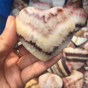 """Figūrėlė """"Energijos širdelė"""" (naturalus akmuo, 5 cm)"""