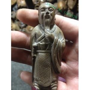 """Figūrėlė """"Konfucijus"""" (naturalus akmuo, 8.5 cm)"""