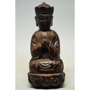 "Figūrėlė ""Budistų vienuolis"" (naturalus akmuo, 8.2 cm, 105 g)"