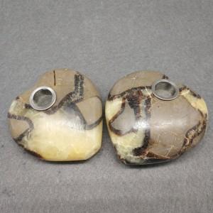 "Figūrėlė ""Širdelė"" (beetle akmuo, 7.5 cm, 120 g)"