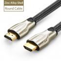 """Profesionalus HDMI kabelis """"Profesionalas 2"""" (1 metras, 4K, Gold-plated, 1080P)"""