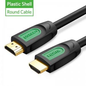 """Profesionalus HDMI kabelis """"Profesionalas 4"""" (1 metras, 4K, Gold-plated, 1080P)"""