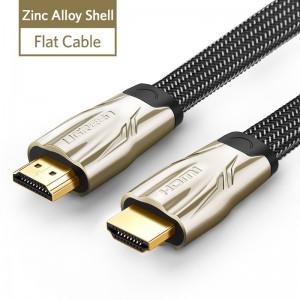 """Profesionalus HDMI kabelis """"Profesionalas 3"""" (2 metrai, 4K, Gold-plated, 1080P)"""