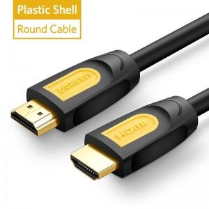 """Profesionalus HDMI kabelis """"Profesionalas 5"""" (2 metrai, 4K, Gold-plated, 1080P)"""