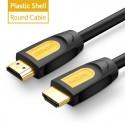 """Profesionalus HDMI kabelis """"Profesionalas 5"""" (5 metrai, 4K, Gold-plated, 1080P)"""