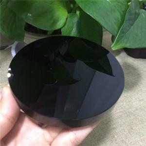 """Diskas """"Fengšui"""" (juodasis obsidianas, 10 cm)"""