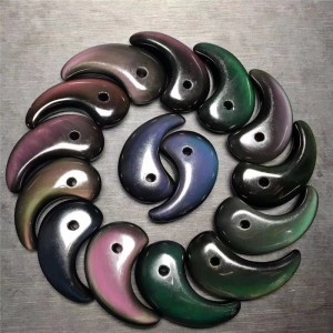 """Pakabukas"" (obsidianas, 40 - 60 mm)"