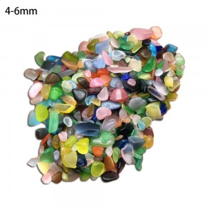 "Natūralūs mineralai ""Katino akis"" (opalitas, 4-6 m, 500 g)"