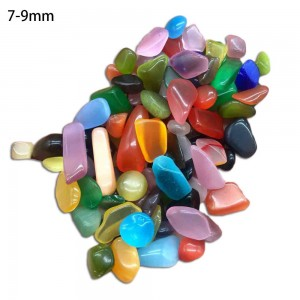 "Natūralūs mineralai ""Katino akis"" (opalitas, 7-9 mm, 500 g)"
