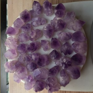 "Mineralai ""Ametisto žavesys"" (ametistas, 40 vnt., 200 g)"