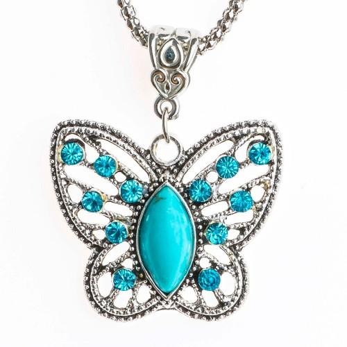 """Pakabukas """"Pats gražiausias drugelis"""" (51 cm, 2.8 x 3.2 cm)"""