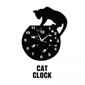 """Sieninis laikrodis """"Katino laikrodis 2"""""""