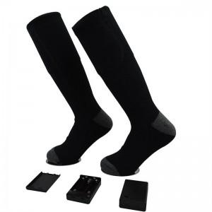 """Elektroninės šildančios kojinės """"Žiemos smagumėlis"""" (su baterijomis)"""