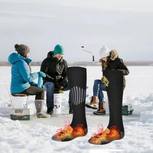 """Elektroninės šildančios kojinės """"Rudeniui ir žiemai"""" (su baterijomis)"""