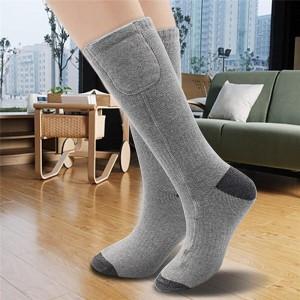 """Elektroninės šildančios kojinės """"Žiemos smagumėlis 2"""" (su baterijų dėžutėmis)"""