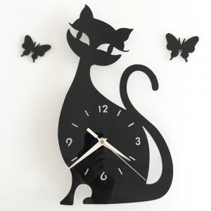 """Sieninis laikrodis """"Juodoji katytė"""""""