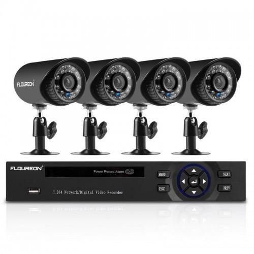 """8 kanalų vaizdo įrašymo įtaisas """"Profesionalas""""  (1080N HDMI CCTV AHD TVI DVR))"""