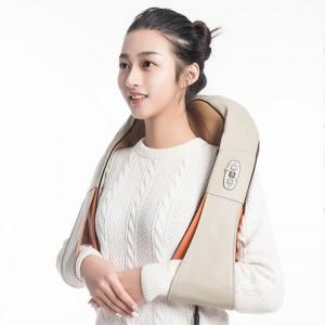 """Elektroninis šildantis kaklo ir pečių masažuoklis """"Apkabinimas 3"""" (poilsiui ir atsipalaidavimui)"""