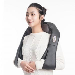 """Elektroninis šildantis kaklo ir pečių masažuoklis """"Apkabinimas 4"""" (poilsiui ir atsipalaidavimui)"""