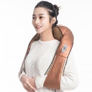 """Elektroninis šildantis kaklo ir pečių masažuoklis """"Apkabinimas 5"""" (poilsiui ir atsipalaidavimui)"""