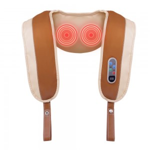 """Elektroninis šildantis kaklo ir pečių masažuoklis """"Apkabinimas 6"""" (poilsiui ir atsipalaidavimui)"""
