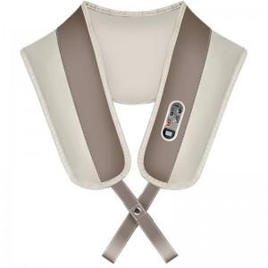 """Elektroninis šildantis kaklo ir pečių masažuoklis """"Apkabinimas 8"""" (poilsiui ir atsipalaidavimui)"""