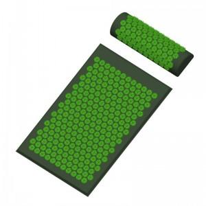 """Akupunktūrinis jogos kilimėlis su pagalve """"Stresui ne 7"""""""