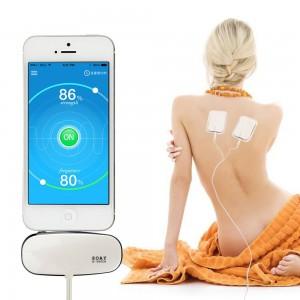 """Elektroninis viso kūno raumenų masažuoklis-treniruoklis """"Nuostabūs prisilietimai 2"""" (akupunktūrinis, telefonui)"""