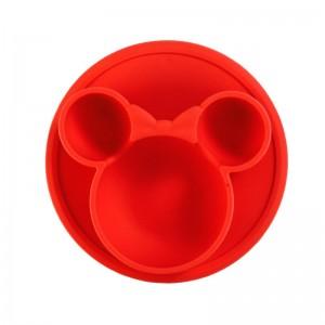 """Vaikiškas silikoninis pietų padėkliukas """"Patogiau nebūna"""" (eko draugiškas)"""