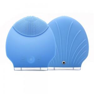 """Elektroninis veido masažuoklis """"Meilės kriauklė"""" (vibruojantis, vandeniui nepralaidus, odos preižiūros priemonė)"""
