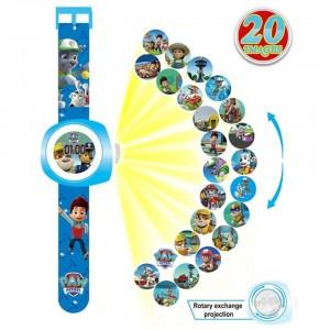 3D projekcinis laikrodis