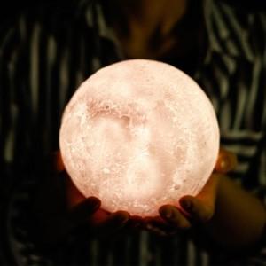 """Šviestuvas mažylio kambariui """"Puikusis mėnulis"""" (15 x 15 cm)"""