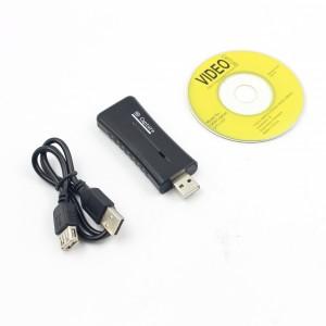 Analoginio vaizdo ir garso signalo į skaitmeninį keitiklis (VHS, USB 2.0, Audio, Video, TV, DVD)