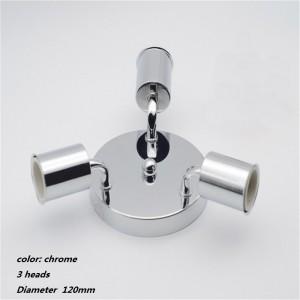 """3 lempų šviestuvas """"Stiliaus elegancija 7"""" (E27, labai kokybiškas)"""
