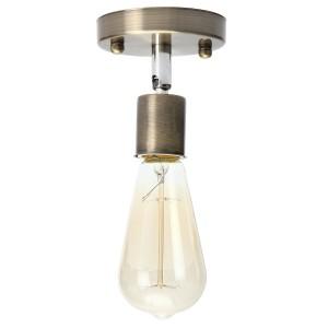 """1 lempos kryptinis šviestuvas """"Stiliaus elegancija 18"""" (E27, labai kokybiškas)"""