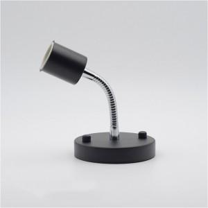 """1 lempos kryptinis šviestuvas """"Stiliaus elegancija 22"""" (E27, 12 cm lankstus kotas)"""
