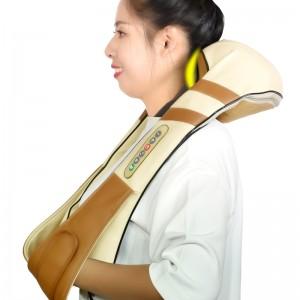 """Elektroninis šildantis kaklo ir pečių masažuoklis """"Apkabinimas 11"""" (poilsiui ir atsipalaidavimui)"""
