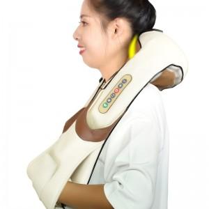 """Elektroninis šildantis kaklo ir pečių masažuoklis """"Apkabinimas 12"""" (poilsiui ir atsipalaidavimui)"""