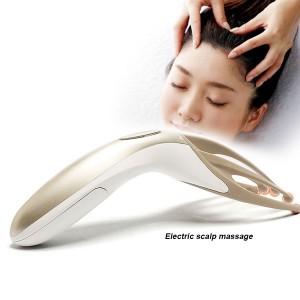 """Elektroninis vibruojantis galvos masažuoklis """"Puikus malonumas"""""""