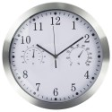 """Sieninis laikrodis """"Tobulumas 3"""" (su temmperatūros matavimu, tylus)"""