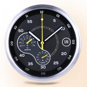 """Sieninis laikrodis """"Tobulumas 6"""" (su temperatūros matavimu, tylus)"""