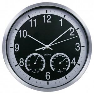 """Sieninis laikrodis """"Tobulumas 7"""" (su temperatūros matavimu, tylus)"""