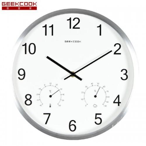 """Sieninis laikrodis """"Tobulumas 11"""" (su temmperatūros matavimu, tylus)"""